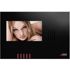 AUDİO 001120 GDM 4,3 Style Dokunmatik Butonlu Renkli Diafon ( Siyah) ( Hands Free )