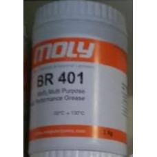 Moly BR 401 Molibden disülfürlü çok amaçlı Rulman ve Yatak Gresi