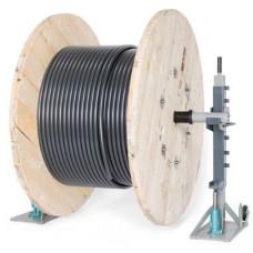 Cable Drum Jack 3 Ton Kaldırma Kapasiteli Kablo Makarası Açma Ekipmanı