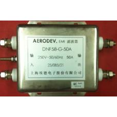 DNF58-G-50A 250 V AC 50~60 Hz 50 Amper Tek faz EMI Filtre