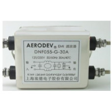 DNF055-G-30A 250 V AC-50~60 Hz 30 Amper Tek faz Emı Filtre
