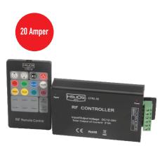 20 Amper 12-24 V DC  RGB Led Kontrol