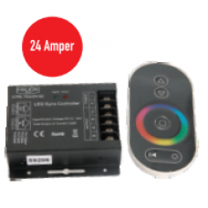 24 Amper 12-24 V DC RGB Led Kontrol Cihazı