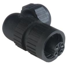 CA3WLD 3+PE Seyyar-vidalı-90° dişi kablo Soketi