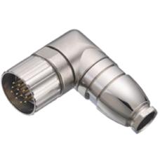 9946017109 Erkek 90° kablo çıkışı 6-10 mm Binder konnektör