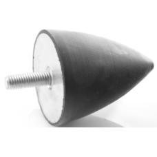 ALT1008516 100 x 85 mm M 16 Armutlu Lastik Takozu