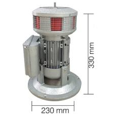 AS0069 370W 220V AC 50 Hz 150dB Asenkron Motorlu Döküm Gövde Siren