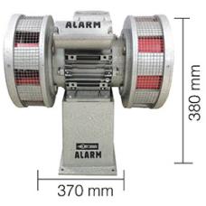 AS0072 750 W 220 V AC 50 Hz 180 db Asenkron Motorlu Çift Fanlı Dökün Gövde Siren