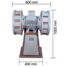 AS0083 7500 W 380 V 50 Hz 270 dB Asenkron Motorlu Çift Fanlı Döküm Siren