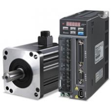 DELTA ASD-A 2-0421-M 400 W 220 V AC Tek faz frensiz Servo Motor ve Sürücü Takımı