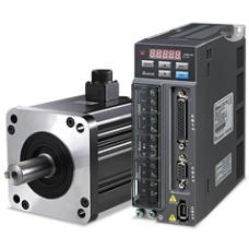 DELTA ASD-B 2-0121-B 100 W 220 V AC Tek faz frenli motor ve Sürücü Takımı