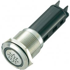 LAS1-AGQ-SM 19mm LED li Metal Buzzer IP50
