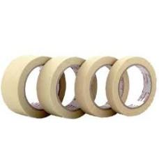 19 mm x 50 mt x 0.15 mm Beyaz 155°C Yapışkanlı Cam elyaf bant