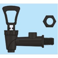 CR-901-159 İmza-Damga göstergeli dıştan rekorlu Plastik Musluk