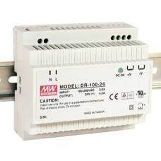DR-100-12 100W 12VDC 7.7A Monofaze güç kaynağı