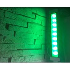 Wall Washer Yeşil 220 Volt 9 Watt 30 cm Led