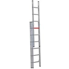 DS400-3 3 x 4 = 12 mt 3 Parçalı Alüminyum sürgülü merdiven