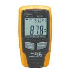 DT-172 Nem+Sıcaklık Datalogger (Termometre+Nem Ölçüm Veri Kayıt)