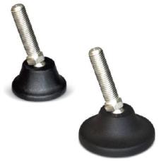 EPX60 1660 60 x 50 mm M16x60 Paslanmaz civatalı Polyamid tabanlı mafsallı Ayak