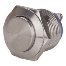 GQ16H-10-N 16mm Metal Yaylı Buton