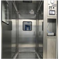 HTL-DC buharlaştırılmış hidrojen peroksitli (H2O2) dezenfeksiyon kabini