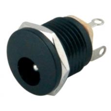 IC-257 2.1mm Somunlu Ø12mm DC Jak