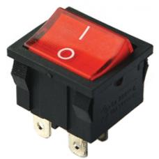 IC-126 ON-OFF 4P Orta boy Işıklı Anahtar