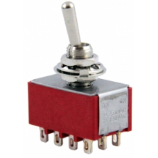 IC-148C ON-OFF Ø6mm Toggle Switch