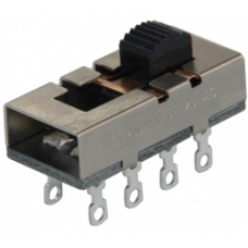 IC-211A2 Sürgülü (Saç Kurutma) 0-1-2 8P Metal Solide Switch
