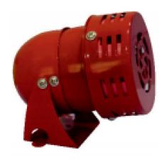 0004 100Watt 220V AC 50Hz 105dB MS 190 Metal Gövde Mini Siren