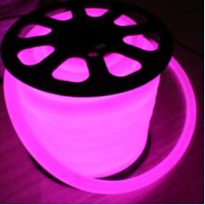 Neon Flexıble Pembe 50 mt Hortum Led