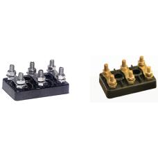 272 NO.5-D.KAP 119.5 x 74 x 52 x 20 mm M 10 Polyamit Motor klemensi