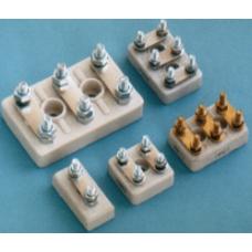 200 NO.1 6 Vidalı Sarı 4.34 x 29.5 x25.8 x 11.8 mm M4 Porselen Motor klemensi