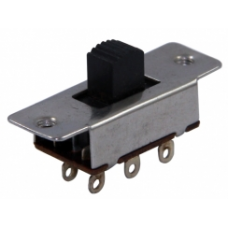SUR010 6P 1-0-2 Metal Sürgülü Switch