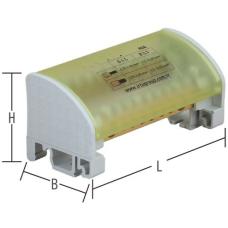 İRDU-650205 80 A (6,5 x 9 mm) 2 Kutuplu Dağıtım Ünitesi