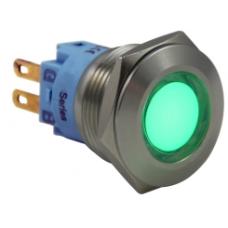 D19S-RGB 24 V 19mm 7 Renkli RGB (ortak bacak eksidir)Sinyal Lambası