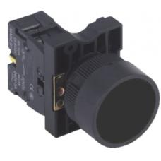 HBY5E-BLACK 22mm Buton Siyah NO,Buton