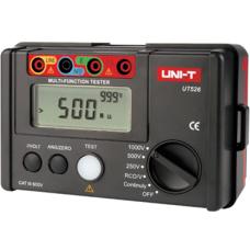 UNI-T UT 526 Toprak Megeri+İzolasyon Megeri + RCD Test Cihazı