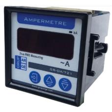GA881011 GA-DA-72-1-X 5 A 72 x 72 Tek ekran AC Ampermetre