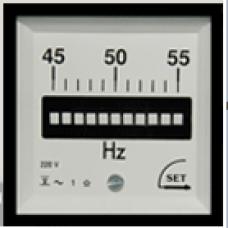 72x72mm(11 - 13 Dilli) Pano Tipi titreyen Frekansmetre