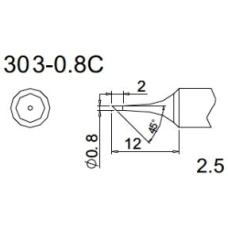 303-08C Quıck 202D Havya Ucu