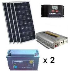 Mini Solar EKO Paket 3 ile elektrik üretimi