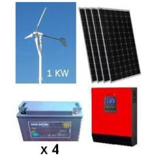 Hibrit EKO Paket 2,İle Elektrik Üretimi