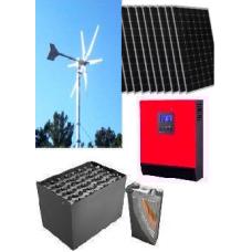 Hibrit EKO Paket 5,ile elektrik,üretimi