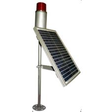 0602,20W,Panel Solar Ledli Uçak İkaz Lambası