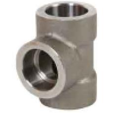 ASTM A 105 Soketli TEE-SW Geçme Kaynaklı Dövme Karbon Çelik
