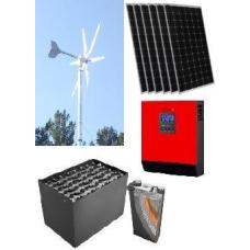 Hibrit EKO Paket 4,İle Elektrik Üretimi