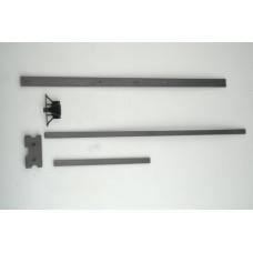 Brückner 5X15X175 mm ( Saçlı ) Ram Makina Kızak Çıtası