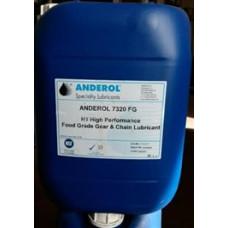 Anderol 7320 FG Sulu Ortamlar İçin Gıda Onaylı , H1, Salyangoz Dişli, Rulman ve Zincir Yağı