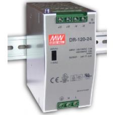 DR-120-24 120W 12V 10A Ray Montaj Güç Kaynağı